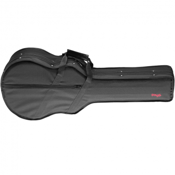 STAGG Basic Softcase bärväska för 3:4 klassisk gitarr